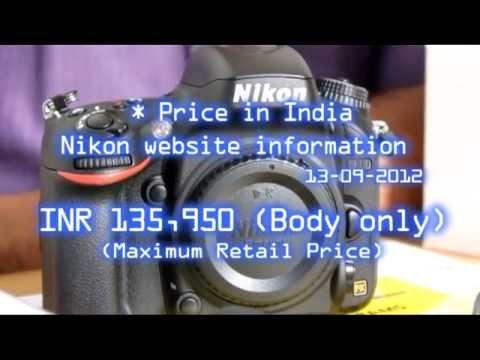 Nikon Digital SLR D600 Camera (body) Unboxing