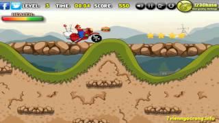 Game đua xe địa hình (Mario) - Game vui 24h