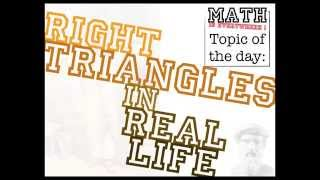 Right Triangles In Real Life