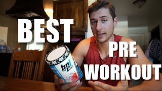 BPI Sports BEST PRE-WORKOUT Product Review