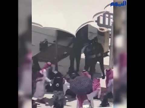 عاجل : تحقيقات أولية .. مهاجم منبر الحرم يدعي أنه المهدي