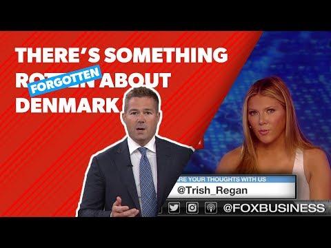 Danish news anchor responds to Trish Regan