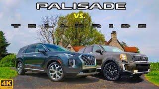 NEWCOMER BATTLE! -- 2020 Hyundai Palisade vs. 2020 Kia Telluride: Comparison