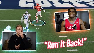 So Tyreek Hill Wanted To Rematch Me...