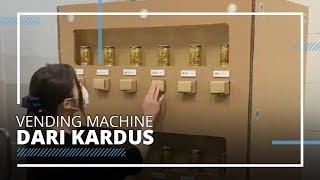 Unik dan Kreatif, Vending Machine di Jepang Ini Terbuat dari Kardus