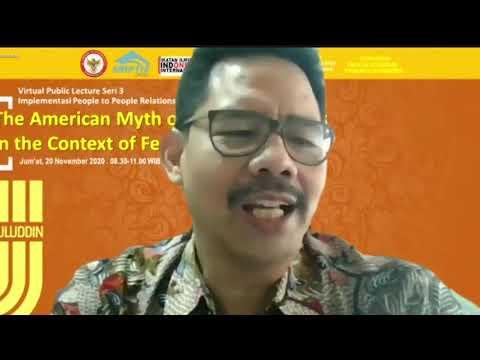 Virtual Public Lecture Seri 3: Implementasi People to People Relationships Bidang Islamic/Religious Studies