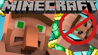 Why Villagers Arms Are Connected   Minecraft