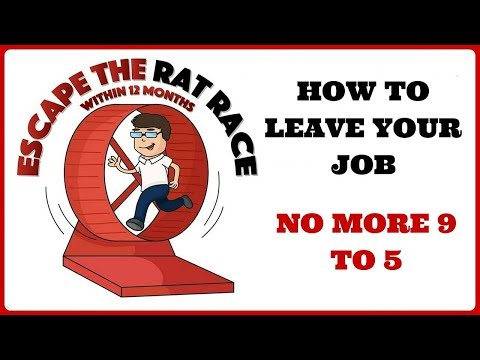 Escape the Rat Race Learn to make money trading online stock market