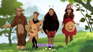 Písničky pro děti - Kola autobusu, Malý pavouček, Pejsek Bingo