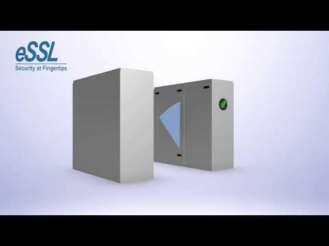 eSSL Flap Barrier Model FB-TL-3000