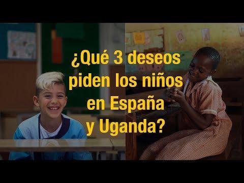 Niños De España y Uganda Piden 3 Deseos