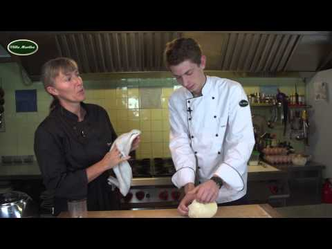 Pasta Tagliatelle Kochvideos Pasta selber machen Rezepte Villa Martha Kochschule
