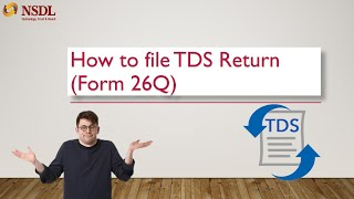 HOW TO FILE TDS RETURN (Form 26Q) | HOW TO CREATE TDS CHALLAN| INCOME TAX