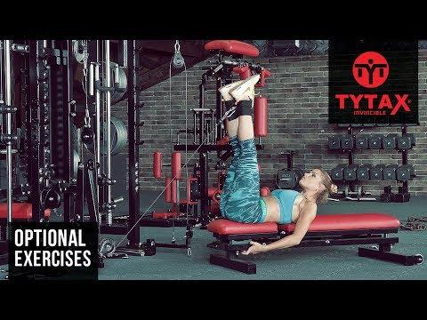 TYTAX® T1-X ( Opt. O ) | Cable Lying Straight Leg Raise