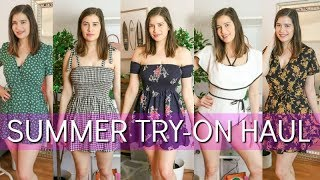 Summer Try On Haul | Cute Dresses & Bikinis | Zaful
