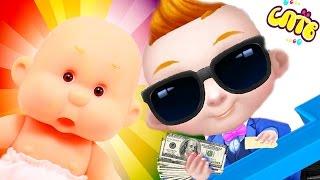 Мой Крошка босс молокосос БЭБИ и ПУПС My little baby boss Игра как мультик для детей
