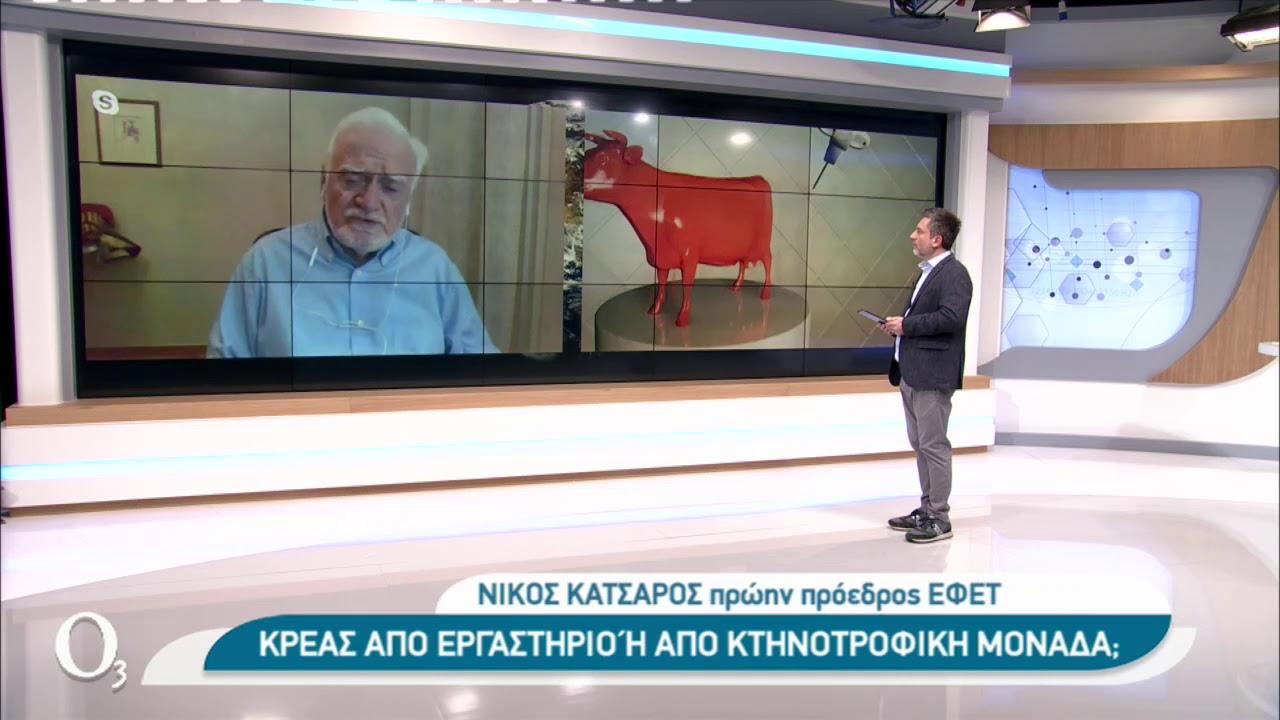 Κρέας χωρίς… κρέας | 07/01/2021 | ΕΡΤ