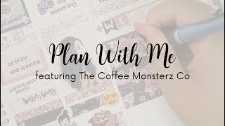 Plan With Me - Love Letters by The Coffee Monsterz Co | Love Shaira