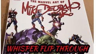 ASMR The Marvel Art Of Mike Deodato Jr Whisper Flip Through