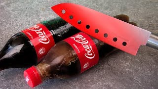 EXPERIMENT 1000 DEGREE KNIFE AND COCA COLA
