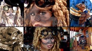 Stunning Steampunk Makeup & Costume!