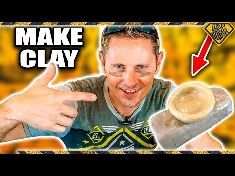 How To Make CLAY from DIRT
