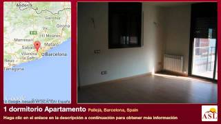 preview picture of video '1 dormitorio Apartamento se Vende en Pallejà, Barcelona, Spain'