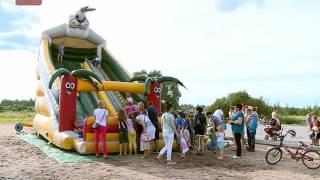 В Западном районе Новгорода появилась еще одна игровая площадка для детей