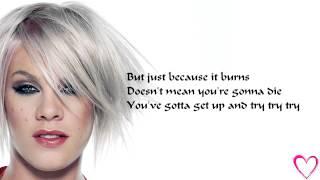 [Lyrics]P!nk-Try