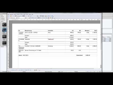 Faktura Software Business - Anleitung Tutorial Rechnungswesen