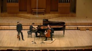 Rachmaninov Trio elegiaque No. 1 in g minor  Bryan Wallick, Sergey Malov and Peter Martens