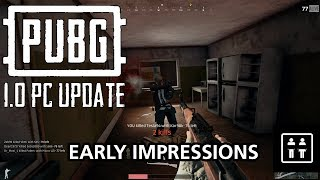 PUBG 1.0 Vaulting Update - Early Impressions
