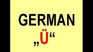 "How to pronounce the german Umlaut ""ü"""