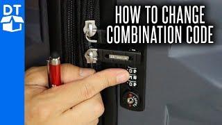 Samsonite Luggage Lock Reset - How To Change Combination On Samsonite Luggage 💼 (2019)