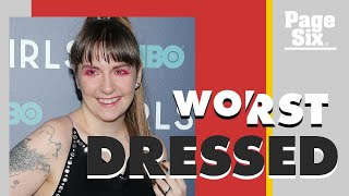 Lena Dunham needs to be done with dressing like a mess   Page Six