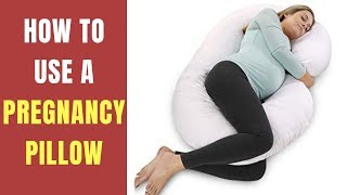 How To Use A Pregnancy Pillow Correctly ✅ How to Choose Pregnancy Pillow