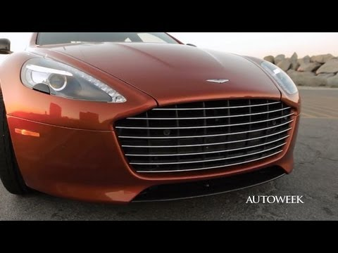Aston Martin Rapide S - drive review video