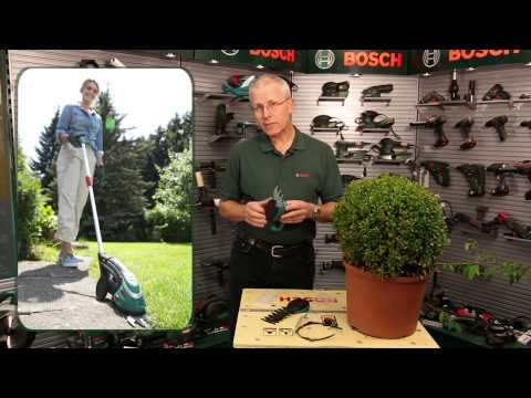 Benefits of: The new Bosch Isio shape and edge shears with Eric