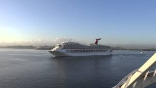 preview picture of video 'Old San Juan, Puerto Rico - Carnival Conquest Arrival HD (2013)'