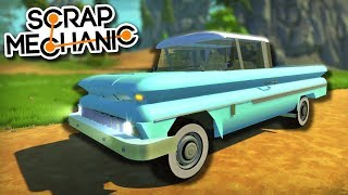 CLASSIC CARS, OPTIMUS PRIME TRANSFORMER and MORE! - Scrap Mechanic Viewer Creations!