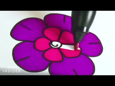 Precision Coloring is Mesmerizing to Watch