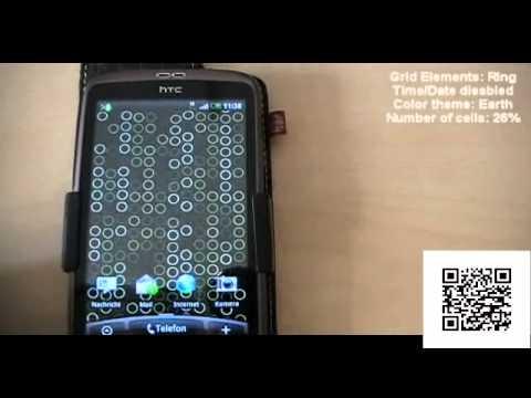 Video of Grid Clock Live Wallpaper