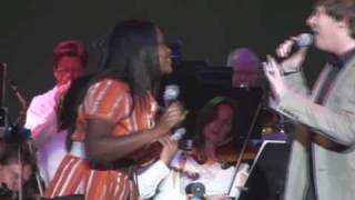 Clay Aiken & Angela Fisher-I Wanna Know What Love Is