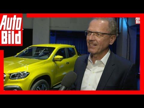 Interview Mercedes X-Klasse (2017) - Volker Mornhinweg im Interview