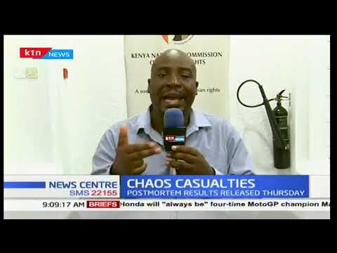 Chaos Casualties: KHCR say police have turned into regime protection