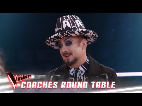 Modern music and writing with happiness (Coaches Round Table) | The Voice Australia 2019