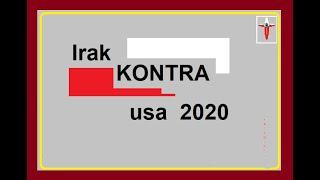 Irak KONTRA usa 2020