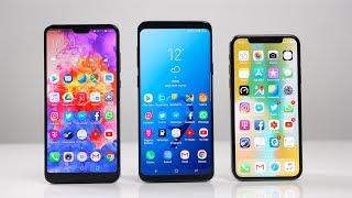 Huawei P20 Pro vs. Samsung Galaxy S9+ vs. Apple iPhone X: Benchmark | SwagTab - dooclip.me