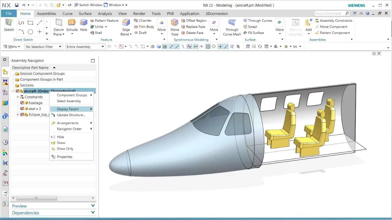 Vorschaubild: NX 11: Zeichnungen mit mehreren Baugruppenanordnungen
