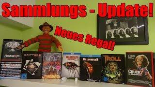 Sammlungs Update + Neues Regal! BluRay +DVDs